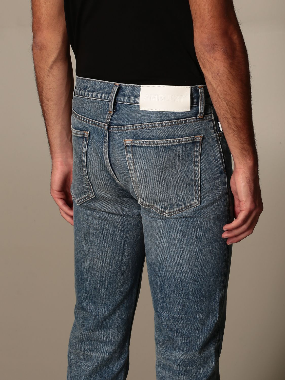 Jeans Ambush: Ambush jeans in used denim blue 3