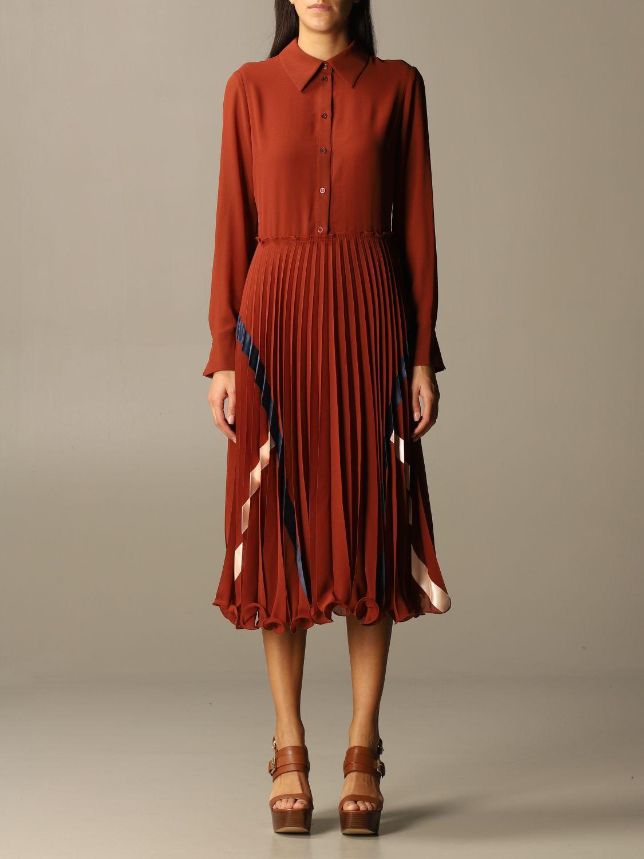Kleid See By Chloé: Kleid damen See By ChloÉ braun 1
