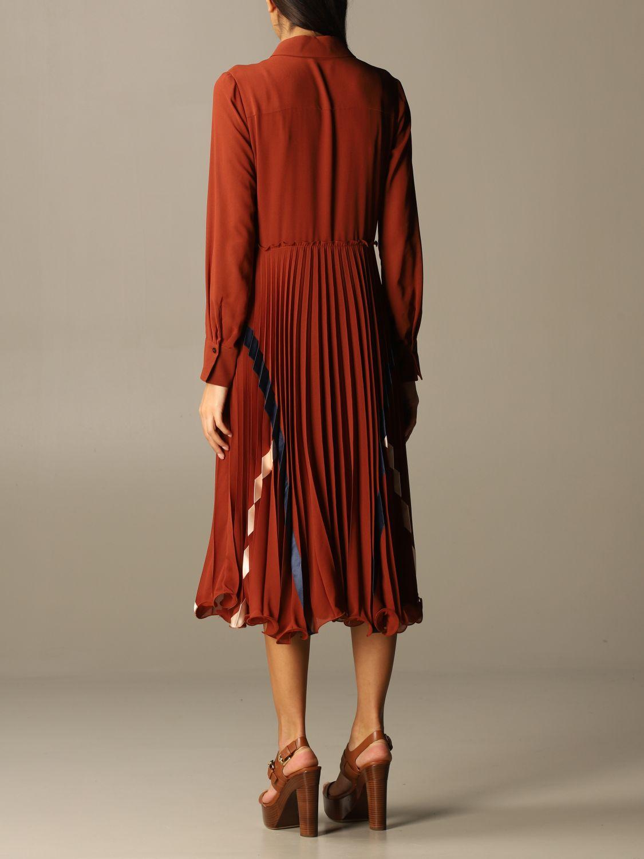 Kleid See By Chloé: Kleid damen See By ChloÉ braun 2