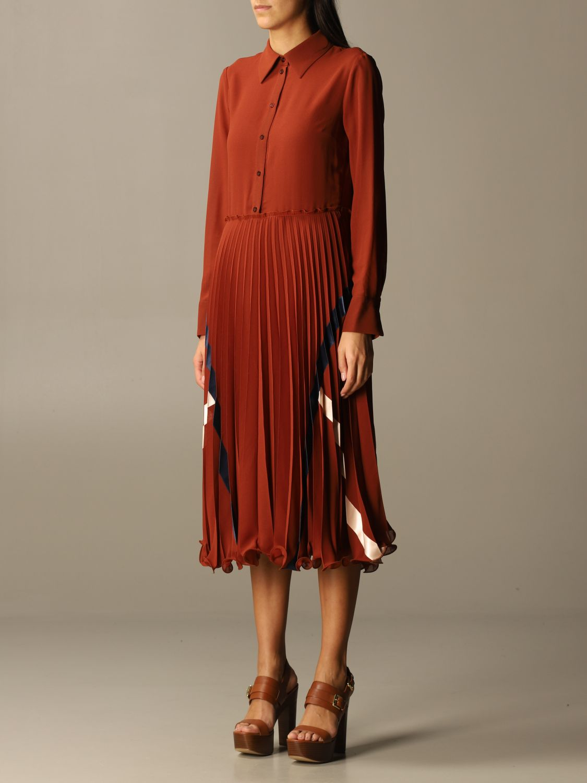 Kleid See By Chloé: Kleid damen See By ChloÉ braun 3