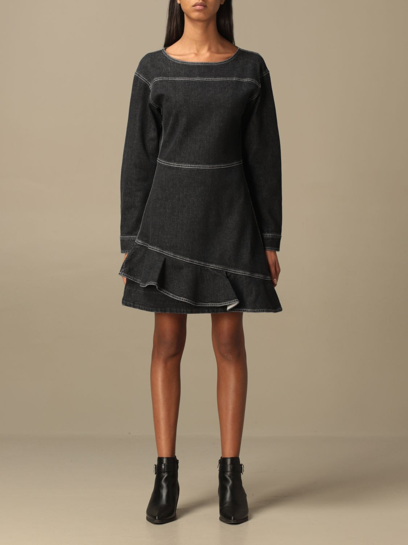 Kleid See By Chloé: Kleid damen See By ChloÉ schwarz 1