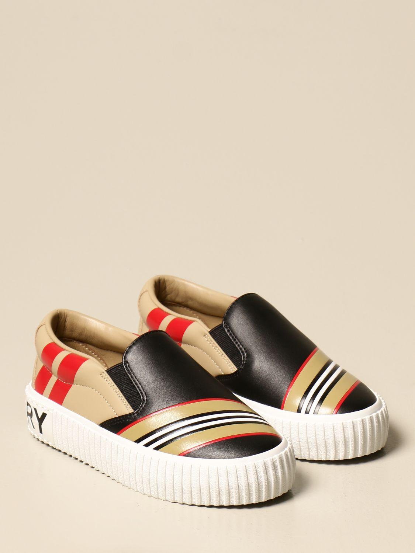 Zapatos Burberry: Zapatos niños Burberry negro 2