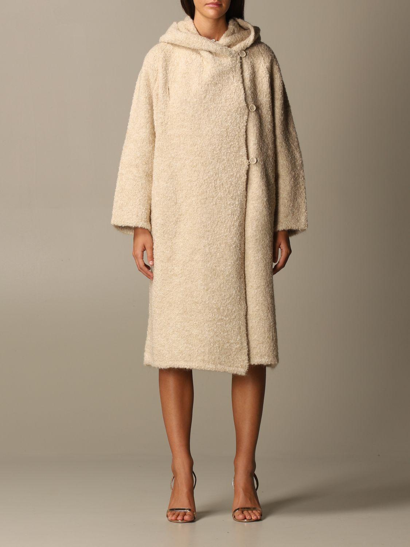 大衣 Elisabetta Franchi: 大衣 女士 Elisabetta Franchi 粉末色 1