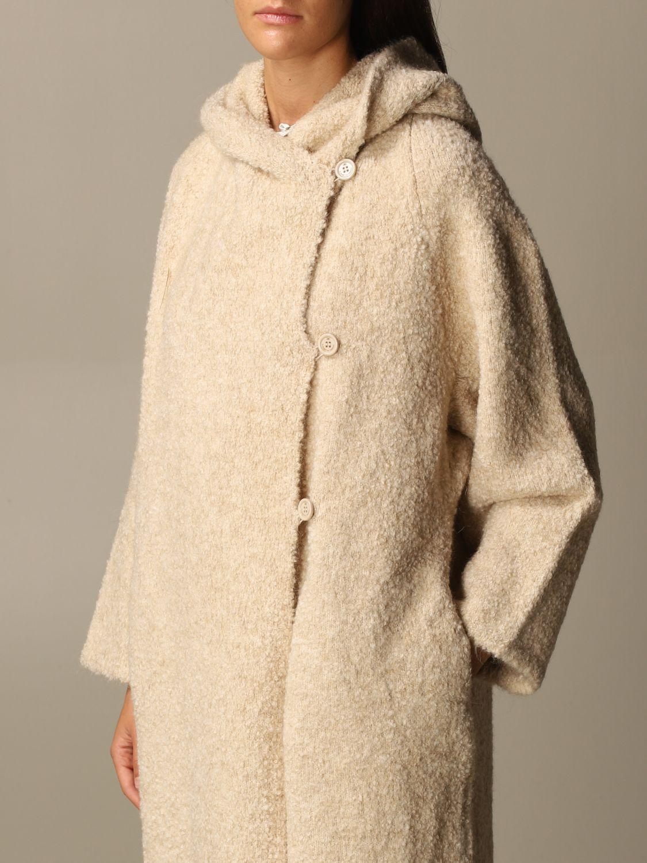 大衣 Elisabetta Franchi: 大衣 女士 Elisabetta Franchi 粉末色 4