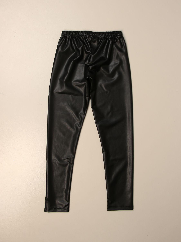 Pantalón Miss Blumarine: Pantalón niños Miss Blumarine negro 2