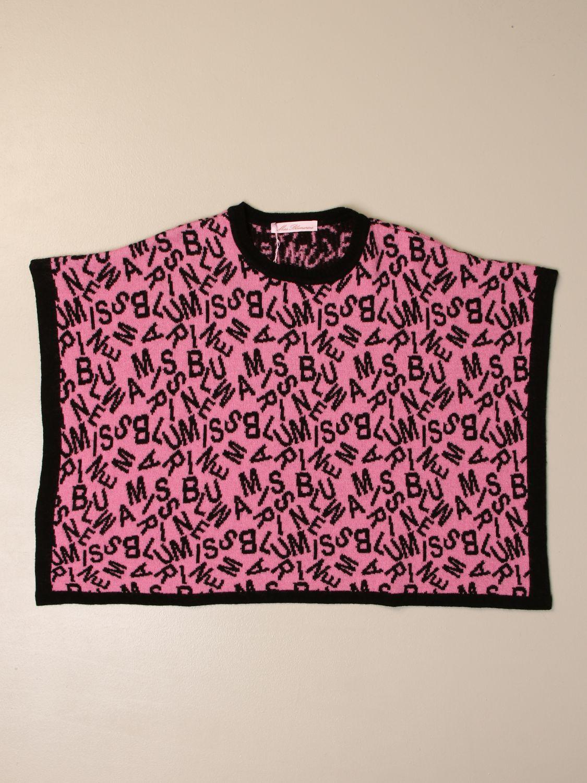 Пончо Miss Blumarine: Одеяло Детское Miss Blumarine розовый 1