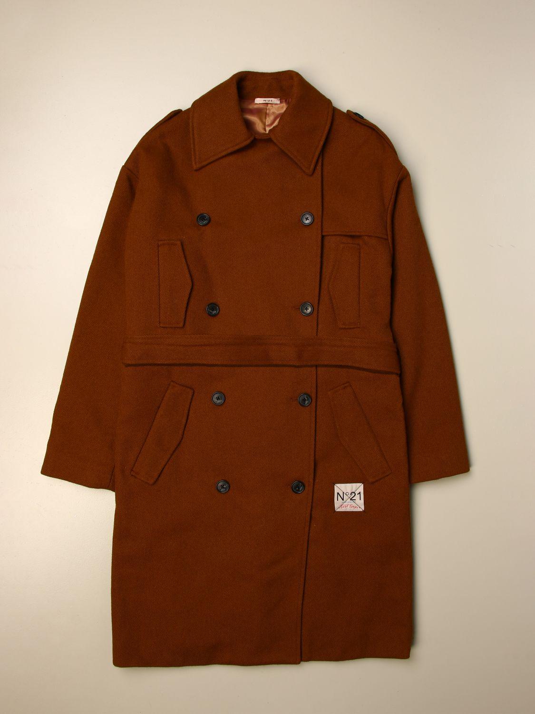 Пальто N° 21: Куртка Детское N° 21 желто-коричневый 1