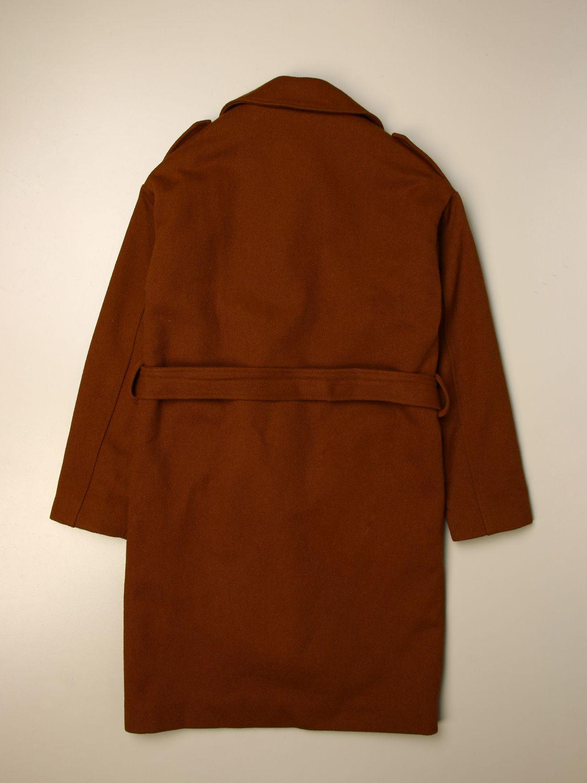 Пальто N° 21: Куртка Детское N° 21 желто-коричневый 2