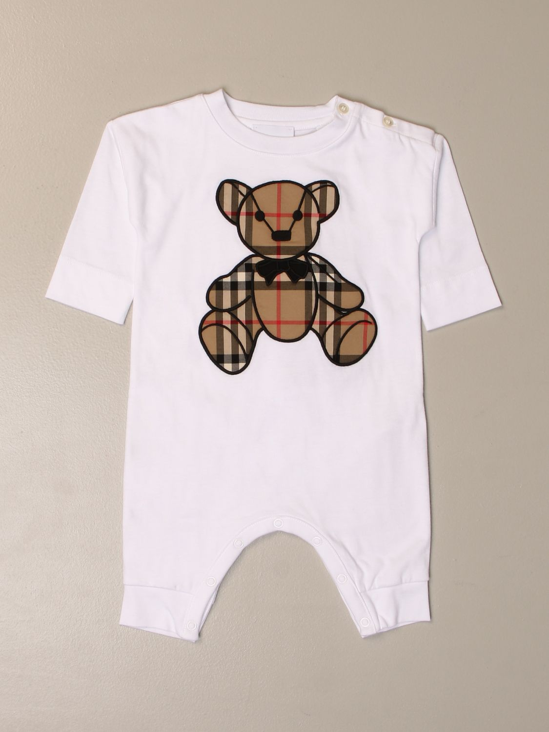 Tracksuit Burberry: Tracksuit kids Burberry white 1