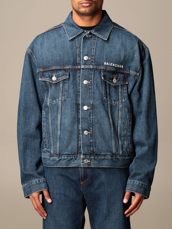 Jacket Balenciaga: Jacket men Balenciaga denim 1