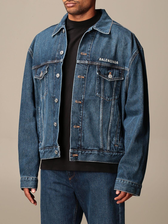Jacket Balenciaga: Jacket men Balenciaga denim 3