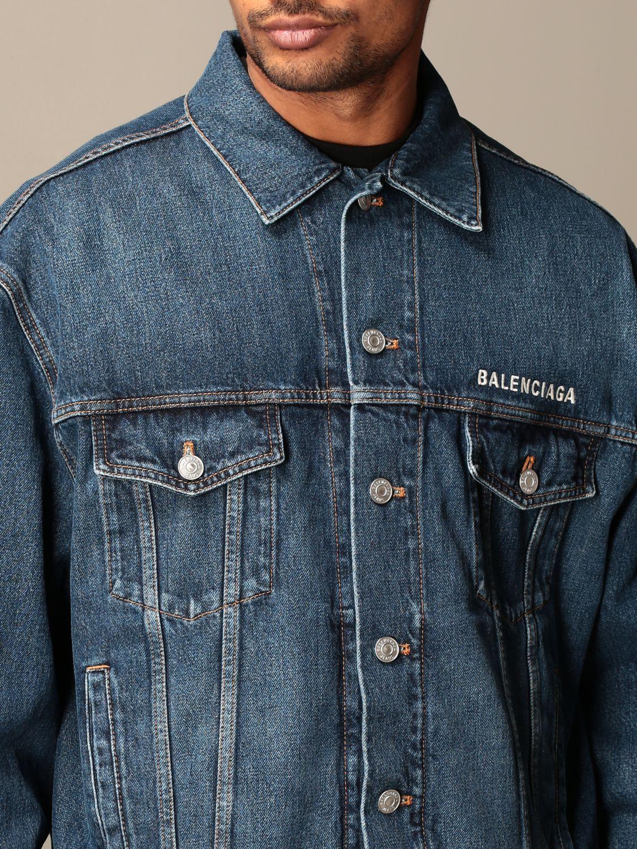 Jacket Balenciaga: Jacket men Balenciaga denim 4