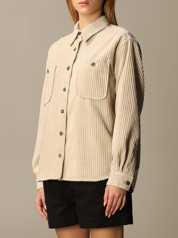 Camicia Isabel Marant: Camicia donna Isabel Marant beige 4