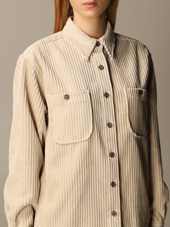 Camicia Isabel Marant: Camicia donna Isabel Marant beige 5