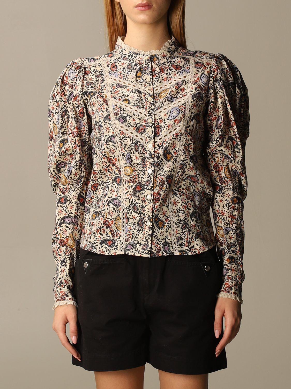 Shirt Isabel Marant: Shirt women Isabel Marant ecru 1