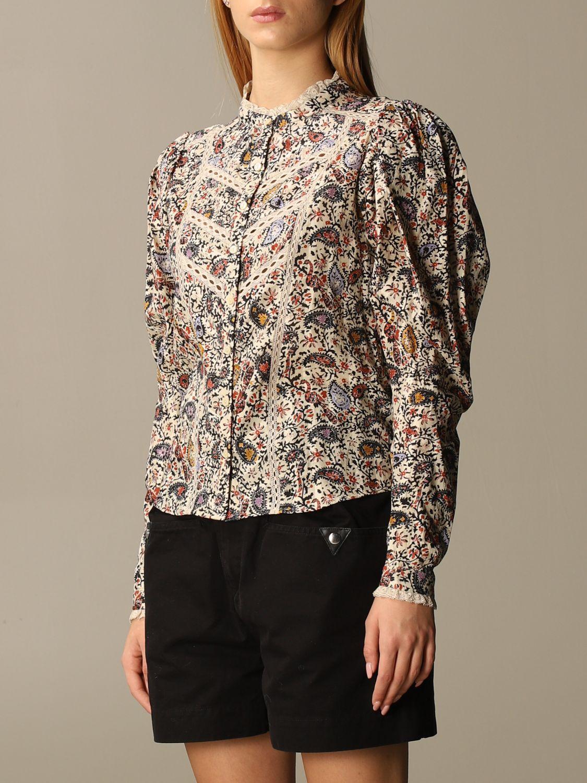 Shirt Isabel Marant: Shirt women Isabel Marant ecru 4