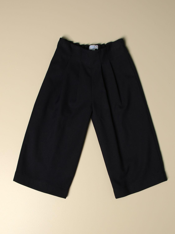 Pantalon Siola: Pantalon enfant Siola bleu 1