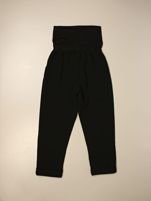 Pantalone Manila Grace: Pantalone a vita alta Manila Grace nero 2