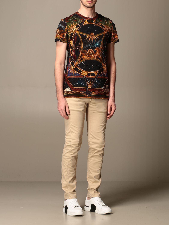 T-shirt Balmain: T-shirt men Balmain multicolor 2