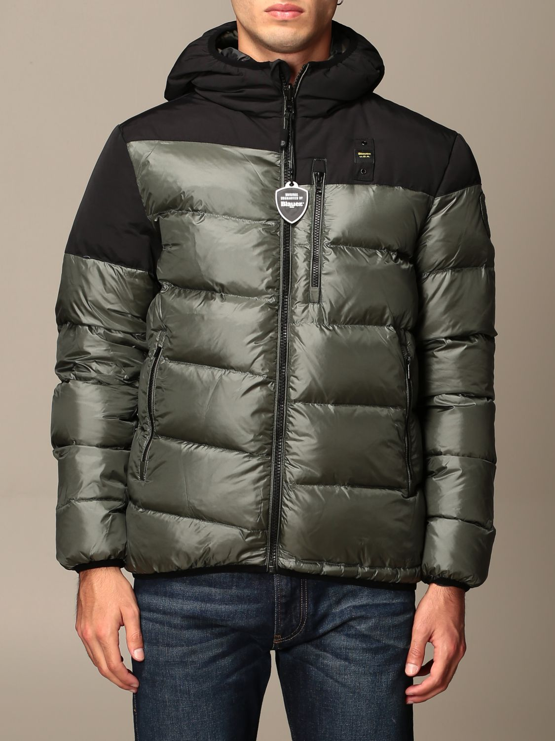 Jacket Blauer: Coat men Blauer green 1
