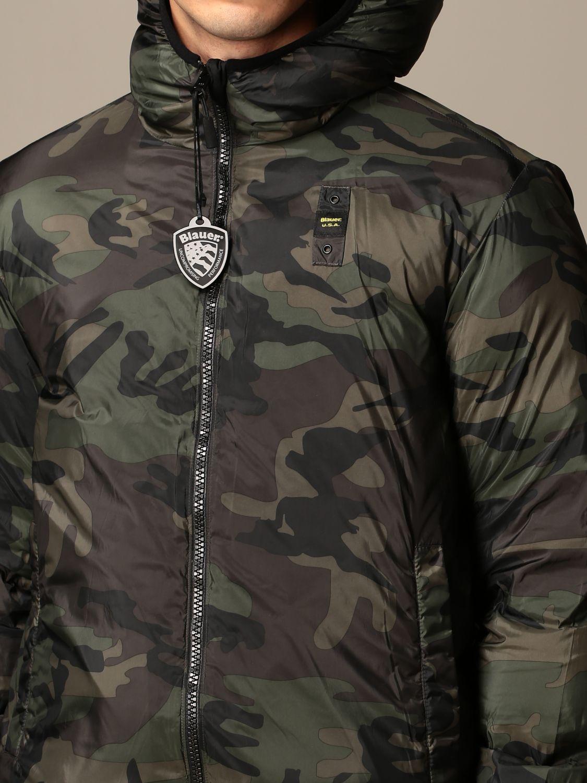 Jacket Blauer: Coat men Blauer green 4