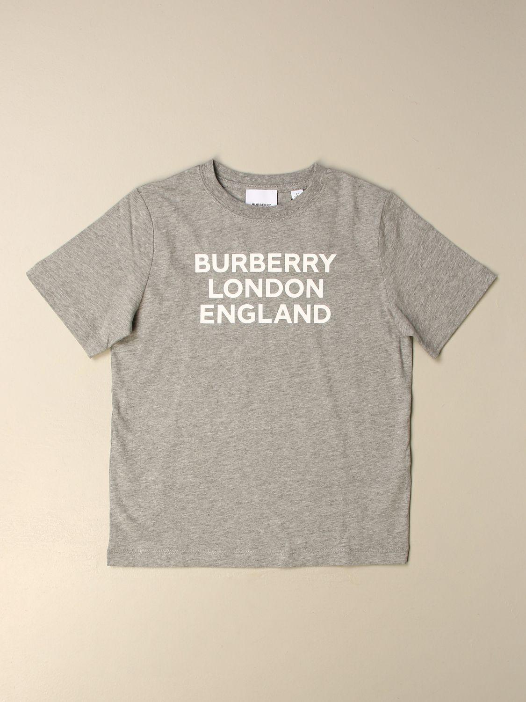 T-Shirt Burberry: T-shirt kinder Burberry grau 1