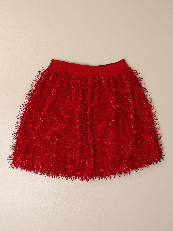半身裙 Mi Mi Sol: 半身裙 儿童 Mi Mi Sol 红色 1