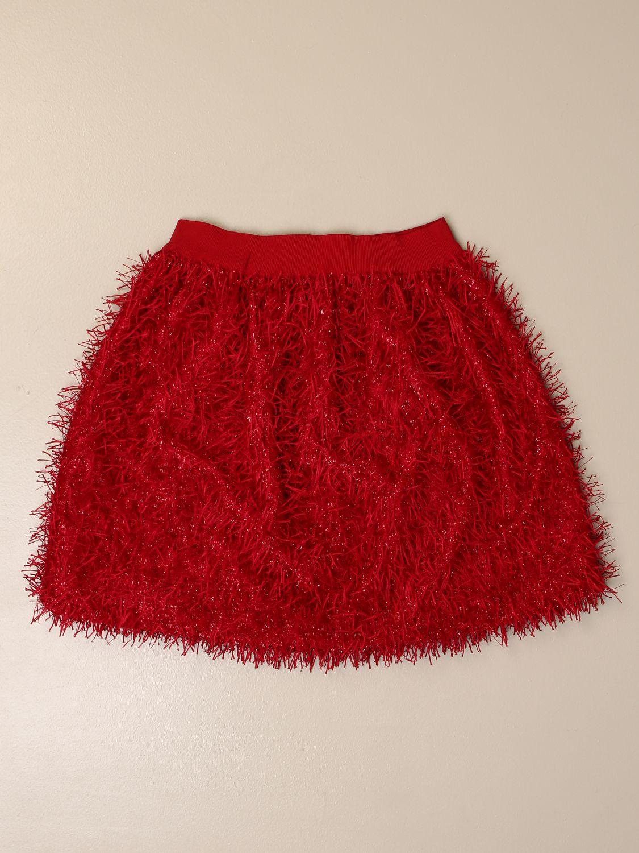 半身裙 Mi Mi Sol: 半身裙 儿童 Mi Mi Sol 红色 2