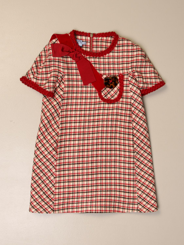 Платье Mi Mi Sol: Платье Детское Mi Mi Sol бежевый 1