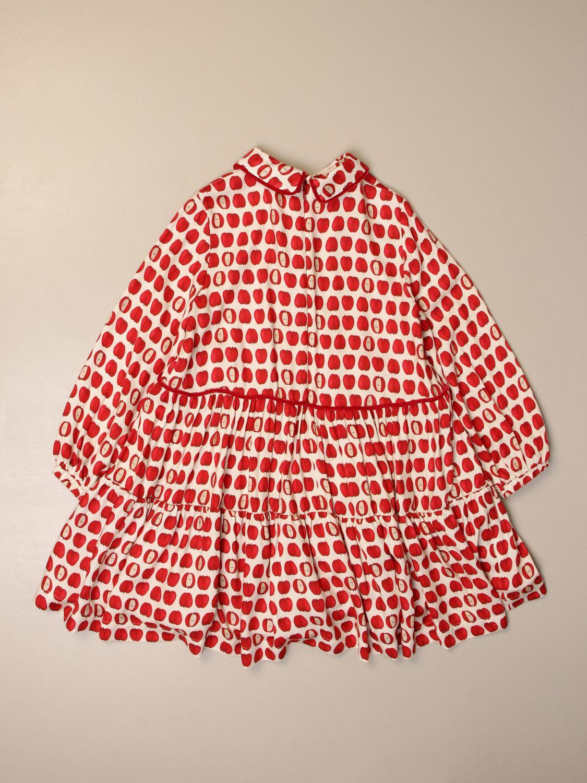 Платье Mi Mi Sol: Платье Детское Mi Mi Sol бежевый 2