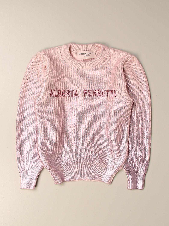 Jersey Alberta Ferretti Junior: Jersey niños Alberta Ferretti Junior rosa 1