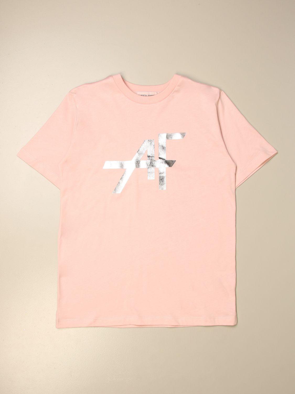 Camisetas Alberta Ferretti Junior: Camisetas niños Alberta Ferretti Junior rosa 1