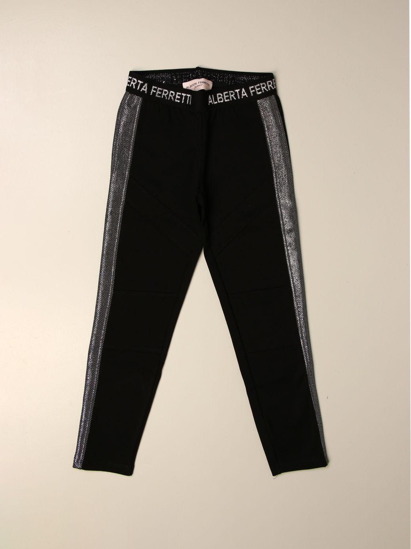 Pantalón Alberta Ferretti Junior: Pantalón niños Alberta Ferretti Junior negro 1