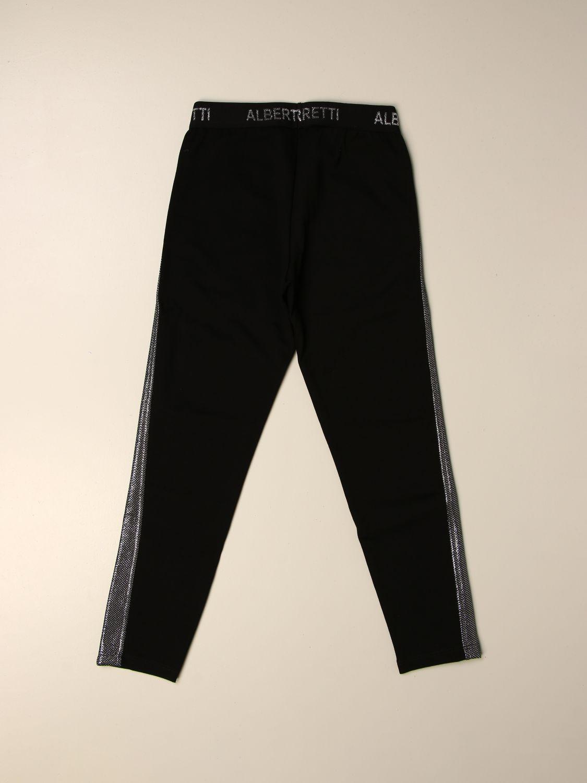 Pantalón Alberta Ferretti Junior: Pantalón niños Alberta Ferretti Junior negro 2