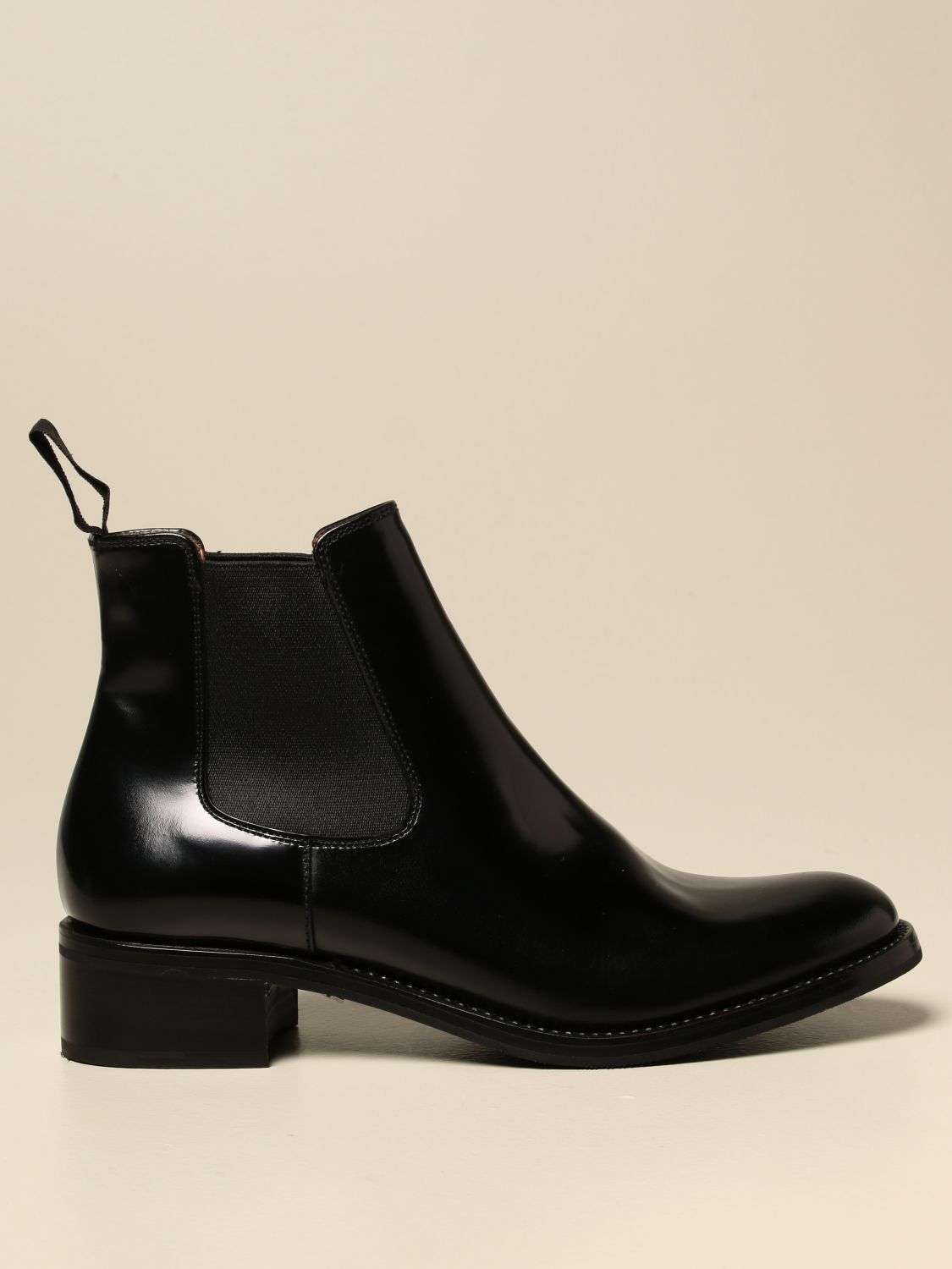 Boots Church's: Church's ankle boot in brushed leather black 1