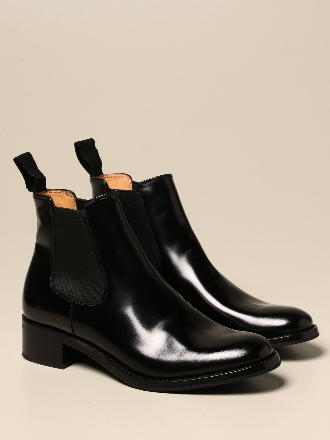 Boots Church's: Church's ankle boot in brushed leather black 2