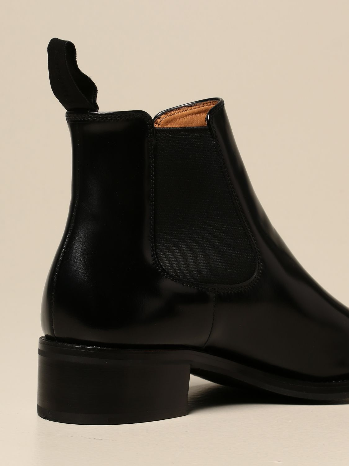 Boots Church's: Church's ankle boot in brushed leather black 3
