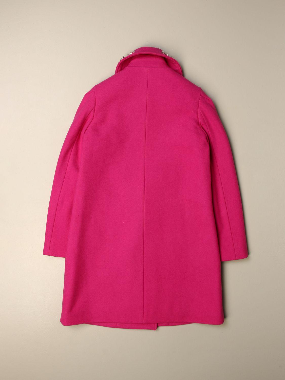Coat N° 21: Coat kids N° 21 fuchsia 2