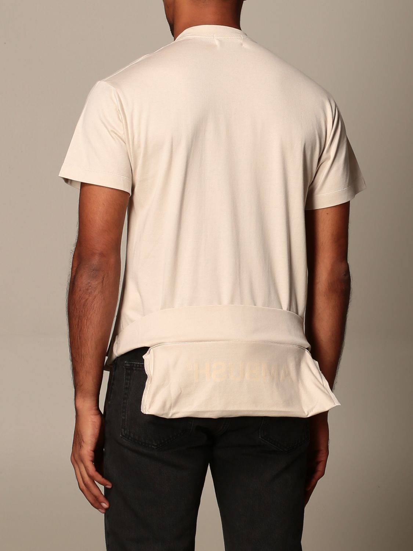 T-shirt Ambush: T-shirt Ambush con logo beige 2