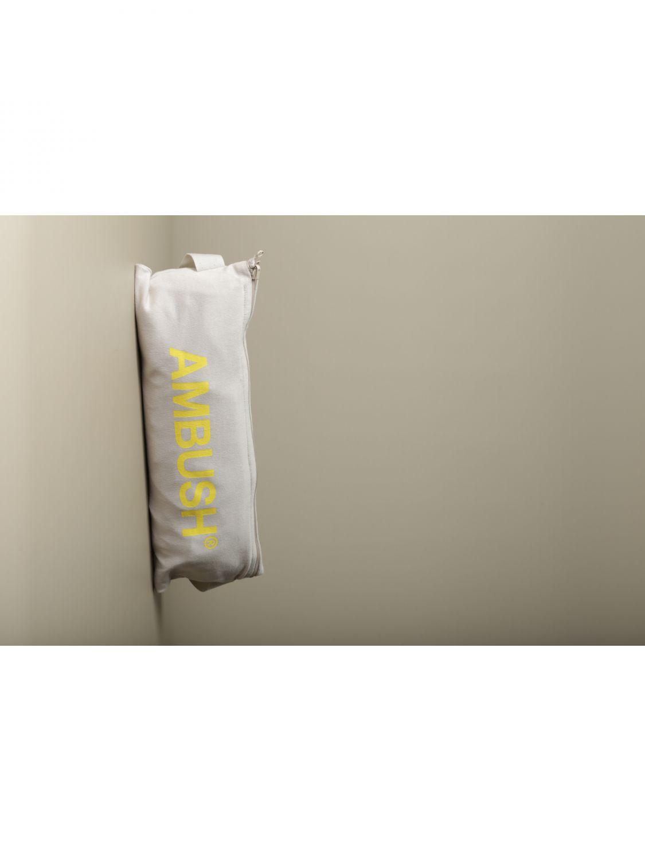 T-shirt Ambush: T-shirt Ambush con logo beige 5