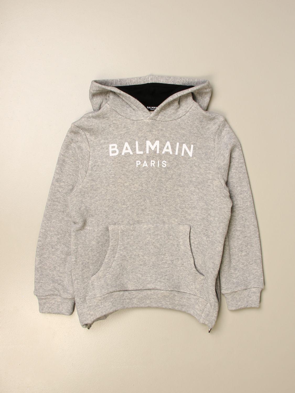 Jumper Balmain: Jumper kids Balmain grey 1
