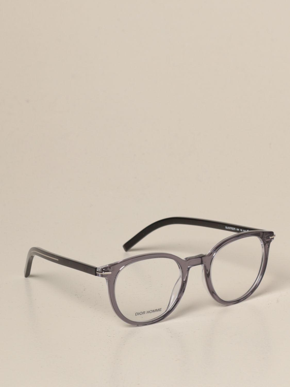 Occhiali Dior Homme: Occhiali da vista Dior Homme in acetato grigio 1