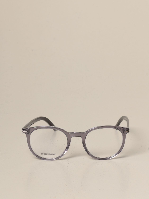 Occhiali Dior Homme: Occhiali da vista Dior Homme in acetato grigio 2