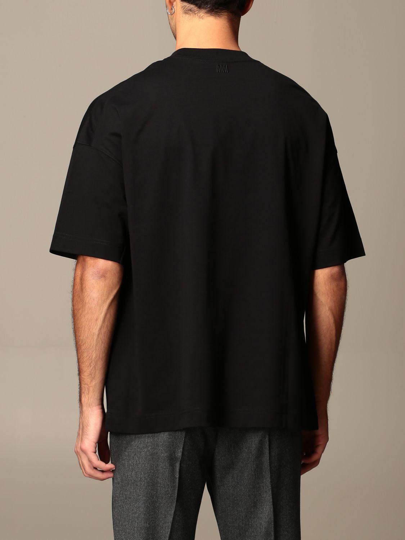 T-shirt Ami Alexandre Mattiussi: T-shirt men Ami Alexandre Mattiussi black 2