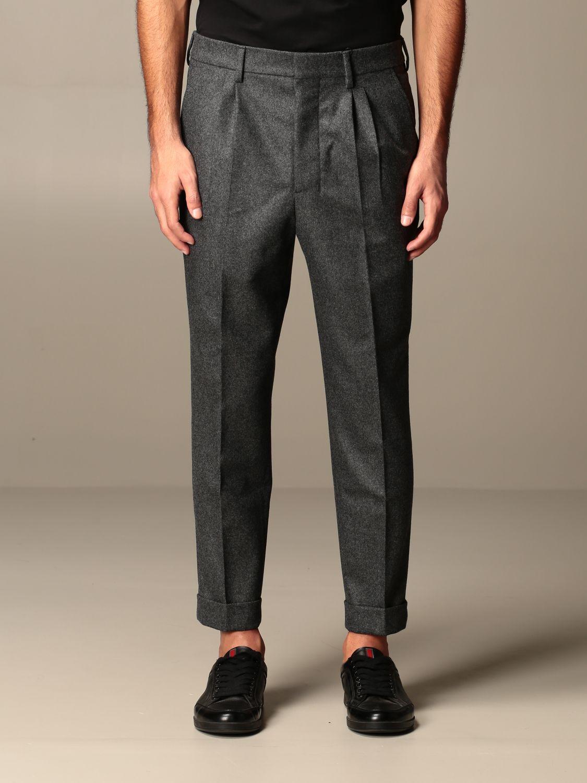 Trousers Ami Alexandre Mattiussi: Trousers men Ami Alexandre Mattiussi grey 1