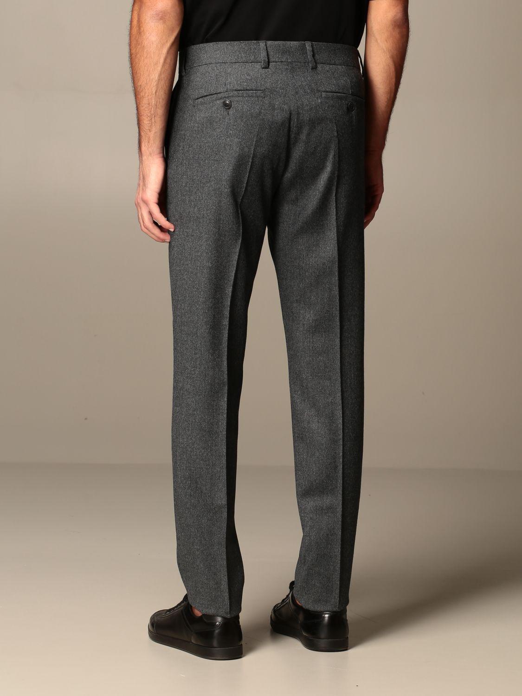 Trousers Ami Alexandre Mattiussi: Trousers men Ami Alexandre Mattiussi grey 2