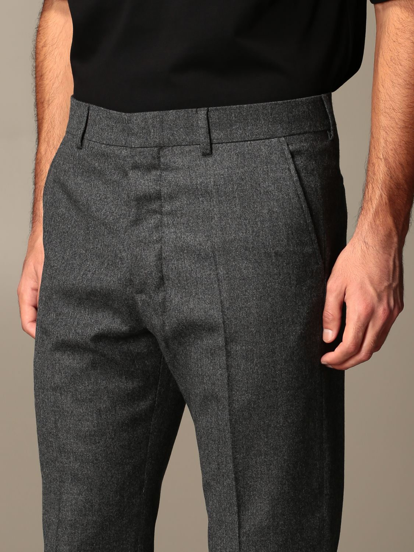 Trousers Ami Alexandre Mattiussi: Trousers men Ami Alexandre Mattiussi grey 3