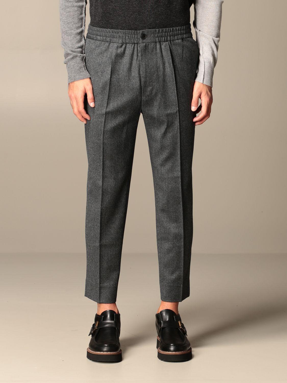 Pants Ami Alexandre Mattiussi: Ami Alexandre Mattiussi trousers grey 1