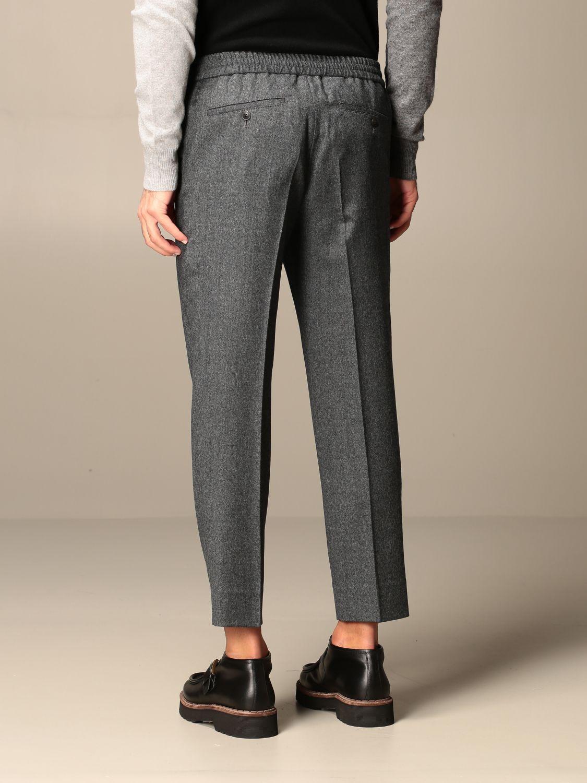 Pants Ami Alexandre Mattiussi: Ami Alexandre Mattiussi trousers grey 2