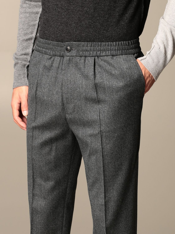 Pants Ami Alexandre Mattiussi: Ami Alexandre Mattiussi trousers grey 3